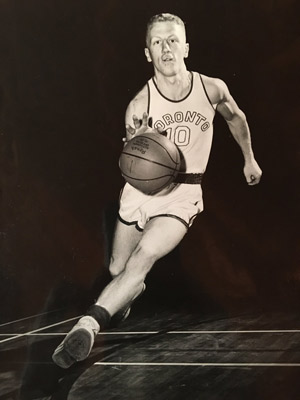 StroudBasketball300.jpg Stroud was a starting point guard on the University of Toronto basketball team.